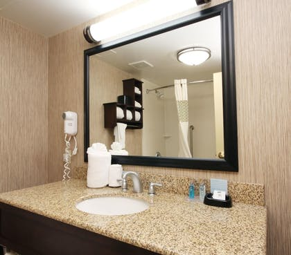 Bathroom Sink | Hampton Inn Champaign/Urbana