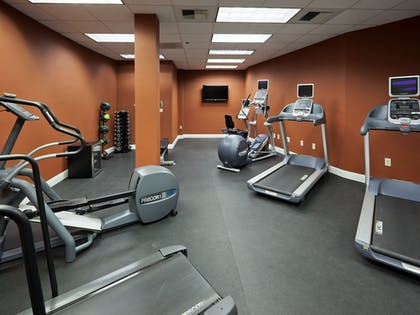 Fitness Facility | Crowne Plaza Hotel Sacramento Northeast