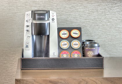 In-Room Coffee | The Waterfront Beach Resort, a Hilton Hotel