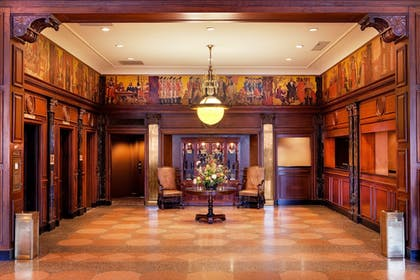 Check-in/Check-out Kiosk | The Hotel Roanoke & Conference Center, Curio Collection by Hilton