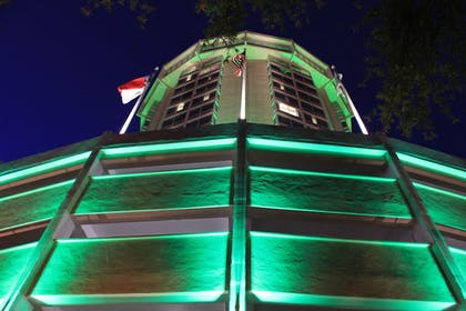 Hotel Front - Evening/Night   Holiday Inn Raleigh Downtown - Capital
