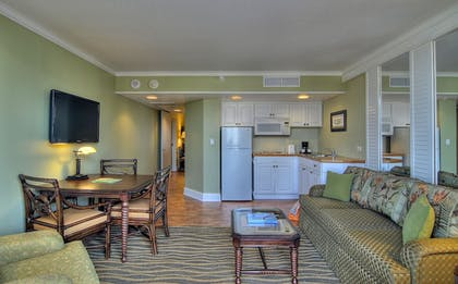 In-Room Kitchenette | TradeWinds Island Grand