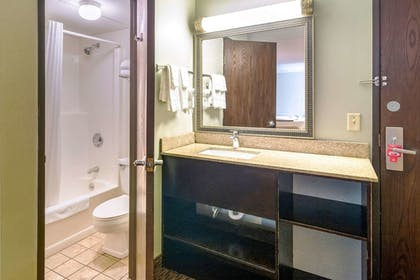 Bathroom | Econo Lodge Near Miller Hill Mall
