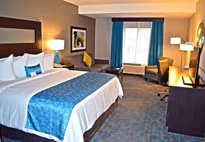 Guestroom | Maplewood Suites Extended Stay- Syracuse/Airport