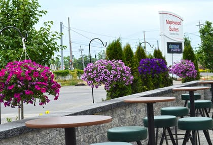 Terrace/Patio | Maplewood Suites Extended Stay- Syracuse/Airport