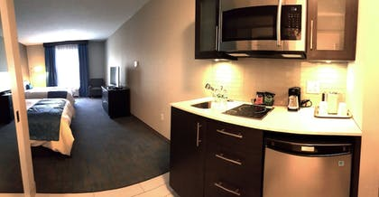 In-Room Kitchenette | Maplewood Suites Extended Stay- Syracuse/Airport