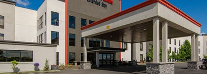 Hotel Front | Maplewood Suites Extended Stay- Syracuse/Airport