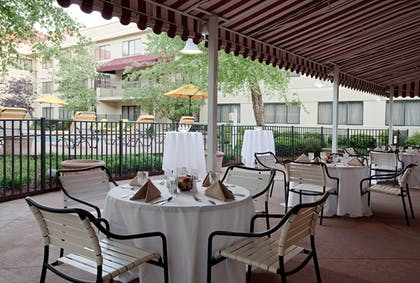 Terrace/Patio | DoubleTree Suites by Hilton Cincinnati - Blue Ash
