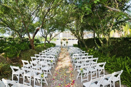 Outdoor Banquet Area | The Westin Tampa Waterside