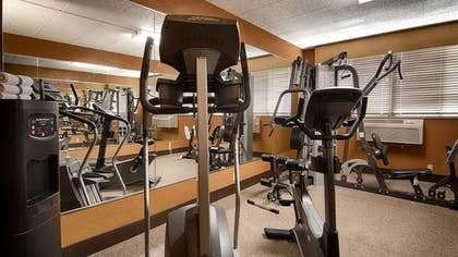 Fitness Facility | Best Western Executive Inn