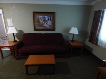 Living Area | Best Western Plus Longbranch Hotel & Convention Center