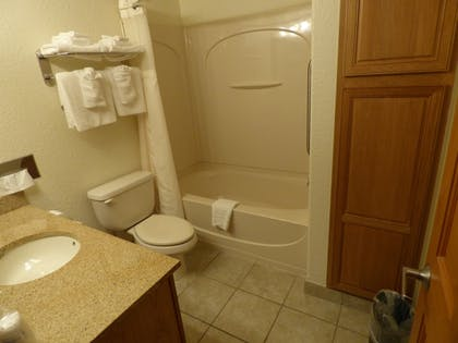 Bathroom | Best Western Plus Longbranch Hotel & Convention Center