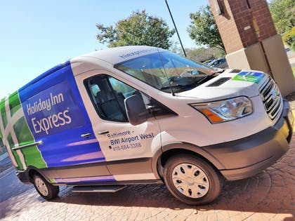 Airport Shuttle | Holiday Inn Express Baltimore-BWI Airport West