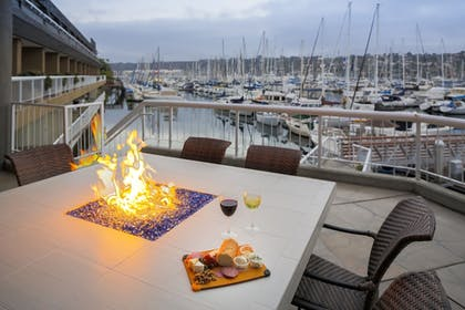 Terrace/Patio | Bay Club Hotel & Marina