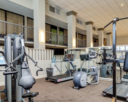 Fitness Facility   Clarion Inn & Suites Conference Center