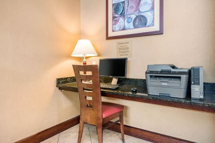 Business Center | Quality Inn & Suites Tarpon Springs South