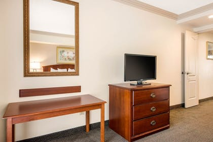 Living Area | Quality Inn & Suites Tarpon Springs South