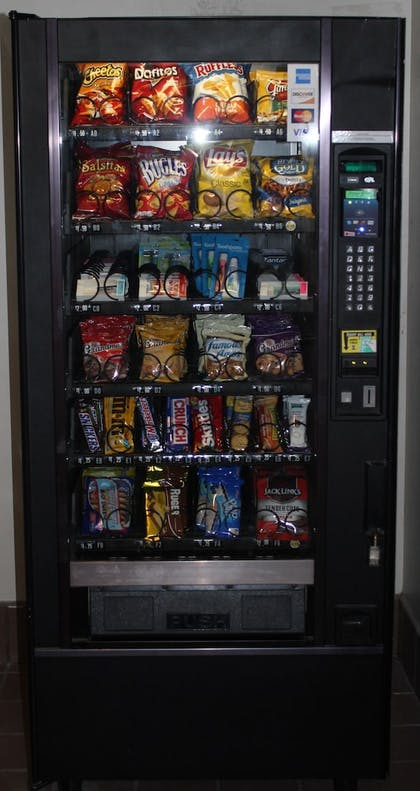 Vending Machine | Alex Hotel & Suites Anchorage Airport