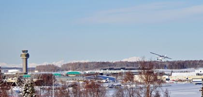 View from Hotel | Alex Hotel & Suites Anchorage Airport