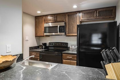 In-Room Kitchen | Evergreen Lodge at Vail