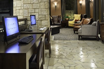 Business Center | Emily Morgan Hotel - A DoubleTree by Hilton Hotel