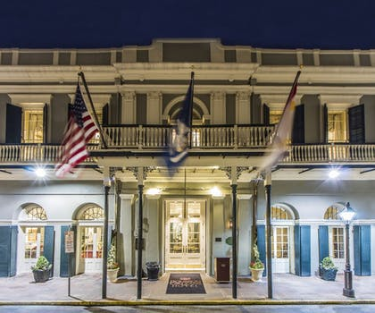 Hotel Front - Evening/Night | Bourbon Orleans Hotel