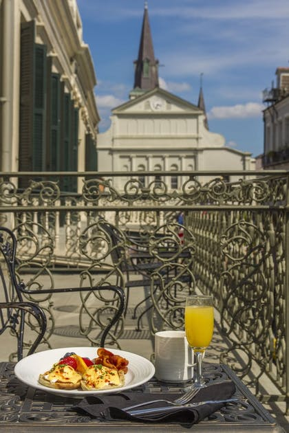 Balcony | Bourbon Orleans Hotel