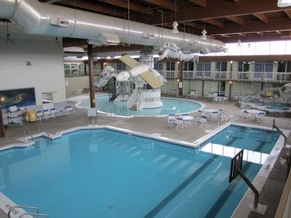 Indoor Pool | Atrium Hotel and Conference Center