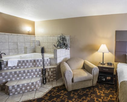 Jetted Tub | Quality Inn & Suites Denver Stapleton