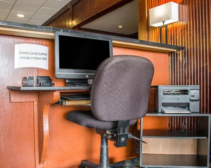 Business Center   Quality Inn & Suites Conference Center Wilkes Barre