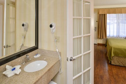 Bathroom Sink | Best Western Plus Raffles Inn & Suites