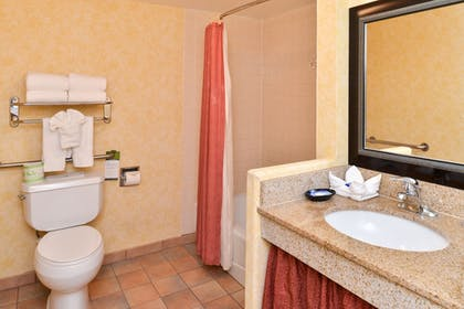 Bathroom | Best Western Plus Raffles Inn & Suites