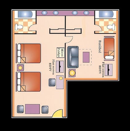 Floor plan | Best Western Plus Raffles Inn & Suites