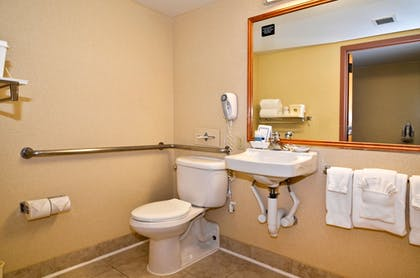 Bathroom | Best Western Plus Tacoma Dome Hotel