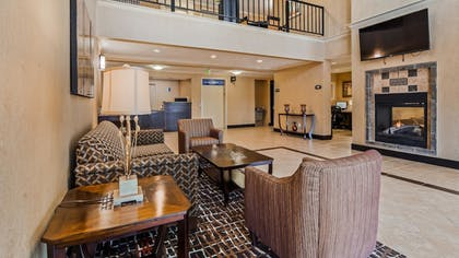 Lobby | Best Western Grand Manor Inn