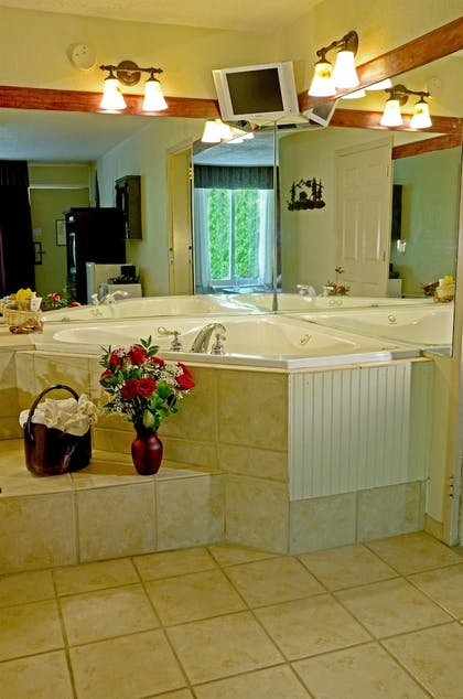 Jetted Tub | Best Western Mountain Lodge at Banner Elk