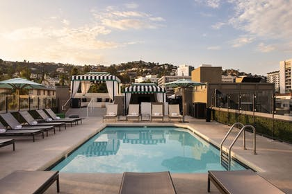 Rooftop Pool | Chamberlain West Hollywood