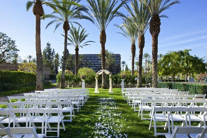 Outdoor Wedding Area | Sheraton Park Hotel at the Anaheim Resort