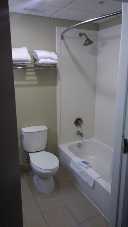 Bathroom | Holiday Inn Express & Suites Pittsburgh West - Greentree
