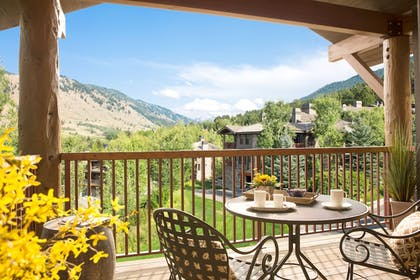 Balcony View | Snow King Resort Hotel & Luxury Residences