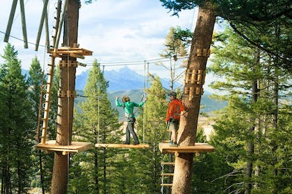 Ropes Course (Team Building) | Snow King Resort Hotel & Luxury Residences