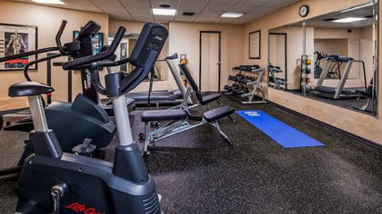 Fitness Facility | Best Western Bordentown Inn