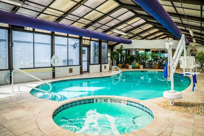 Indoor Pool | Madison Hotel