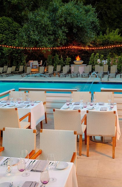Outdoor Dining | Fairmont Sonoma Mission Inn & Spa