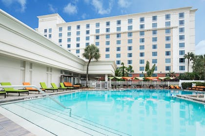 Pool | Holiday Inn & Suites Across From Universal Orlando