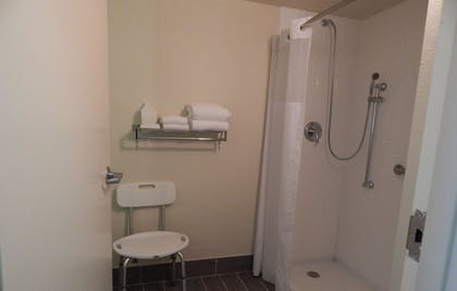 Bathroom Shower | Ramada by Wyndham Uniontown