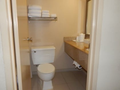 Bathroom | Ramada by Wyndham Uniontown