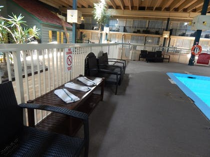 Indoor/Outdoor Pool | Ramada by Wyndham Uniontown