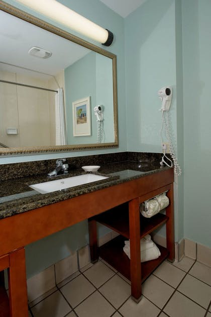 Bathroom Sink | Quality Inn & Suites Port Canaveral Area