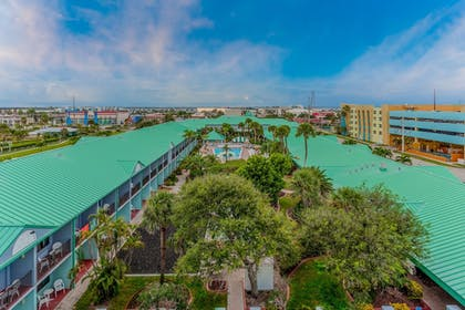 Aerial View | Quality Inn & Suites Port Canaveral Area